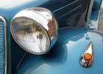 Головная оптика имеет весьма специфичные корпуса и рассеиватели | Tatra 57A Sport