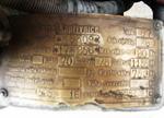 На подкапотной табличке можно найти не только номера агрегатов, но даже мощность двигателя, а также диаметр цилиндров и размер шин! | Tatra 57A Sport