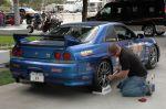 Самый «правильный пацан» на Sema Show 2008 cо своим GT-R 33, пусть даже всего лишь в 287-сильной версии | Sema Show