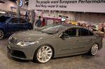 Седан VW с загадочным обозначением CC Eco Performance Concept на самом деле суть заводских заряженных версий в семействе Passat | Sema Show