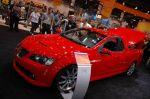 Чем можно привлечь к пикапу? Легкий Pontiac G8 ST Show Car оснастили стандартным, но 6-литровым двигателем и спортивным шасси, после чего до сотни он стал разгоняться всего за 5,4 секунды | Sema Show