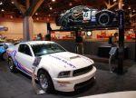 Отделение Ford Racing подготовило 500-сильную версию купе 5,4 Cobra Jet Mustang в память о легендарных «Мустангах» с двигателями серии Cobra Jet V8. Фактически, это настоящий гоночный автомобиль, а после небольших доработок готов выйти на драговую дорожку | SEMA Show