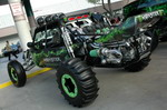 Багги серии Monster от Vision Motor Sports. Его главная особенность — двигатель Chevrolet 7,2 V8 с twin-turbocharger, развивающий 1200 л.с. | SEMA Show