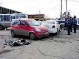 Автомобиль на буксире сбил пожилую женщину