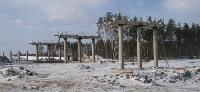 На объездной вокруг Иркутска начали укладку асфальтобетона