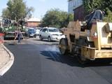 Улица Софьи Перовской в Иркутске закрыта на ремонт