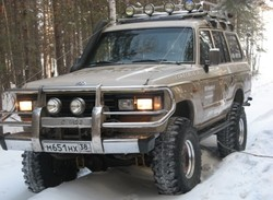 Toyota Land Cruiser 60 Shark off-road