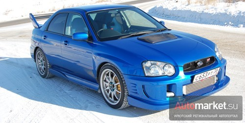 Subaru Impreza WRX STI 2.2 Aqua-fsp