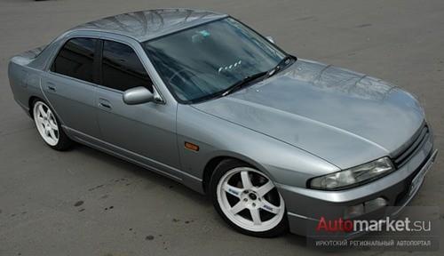 Nissan Skyline GTS-4 Скалик
