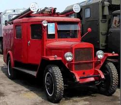 Пожарная автоцистерна ЗИС-5