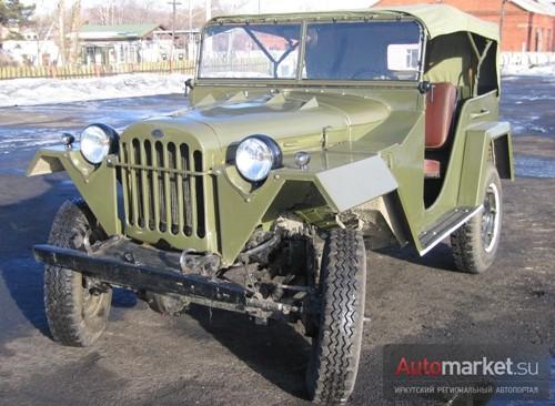 ГАЗ-67 ИВАН-ВИЛЛИС