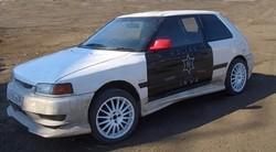 Mazda Familia стрит-челендж кар