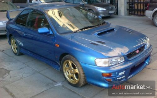 Subaru Impreza WRX Type R STi version 5 Limited