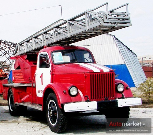 Пожарная автолестница АЛГ-17