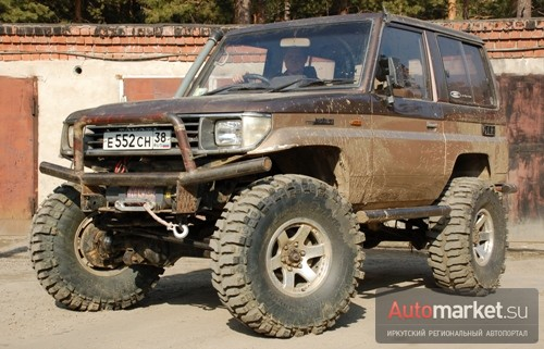 Toyota Land Cruiser 71 «Надежда»