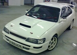 Toyota Corolla «Белый ангел»