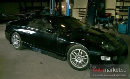 Nissan 300ZX Black Lady