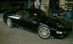 Nissan 300ZX Black Lady