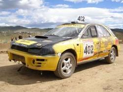 БайкалМоторШоу - 2008. Звездный воин. (Subaru Cross Sport Евгения Корешкова)