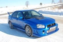 БайкалМоторШоу. Пиранья. (Subaru Impreza WRX STi)