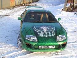 Фестиваль автотюнинга. Зеленое настроение (Toyota Supra)