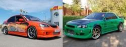 Honda Civic Ferio RS / Nissan Skyline