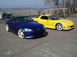 Honda S2000 & Mazda RX-7