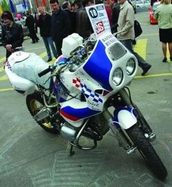 Фестиваль автотюнинга. Мотоцикл «БАФОРС»