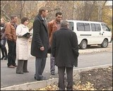 Мэр Иркутска провел очередную проверку ремонта дорог