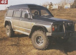 "Nissan Safari Y60 ""Алефа"""