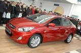 В Иркутске презентовали новый седан Hyundai Solaris