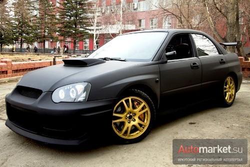 Subaru Impreza WRX STi Black Angel