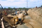 Работы на третьем пусковом комплексе нового Ангарского моста вступают в завершающую стадию