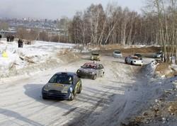 Этап Чемпионата России по автокроссу в Иркутске