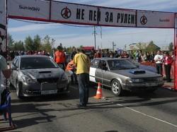 Чемпионат по дрэг-рейсингу. Закрытие сезона – 2010 в Иркутске