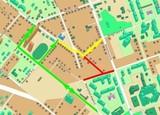 4 ноября в Иркутске закроют перекресток улиц 25 Октября и Пискунова