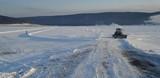 Первая ледовая переправа открыта в Иркутской области