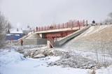 В Иркутске открыли новый мост через реку Ушаковка