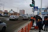 Новый светофор появился на объезде улицы Байкальская