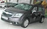 В Иркутск начали поступать первые минивэны Chevrolet Orlando