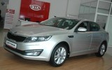 Новый седан бизнес-класса Kia Optima появился у иркутских дилеров