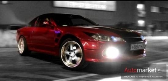 Nissan Silvia S15 «Лайтовая тачка»