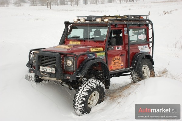 Land Rover Defender «Пума»