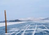 На Байкале официально открыта ледовая переправа на остров Ольхон