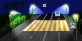 ГИБДД предлагает сделать пешеходные переходы более заметными