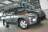 В Иркутск поступил обновленный внедорожный флагман Lexus
