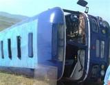 Автобус с туристами опрокинулся на острове Ольхон
