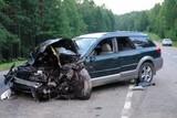 Один человек погиб в результате столкновения иномарки с колонной байкеров на Байкальском тракте