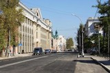 Улицу Карла Маркса в Иркутске после ремонта откроют для движения 17 или 18 сентября