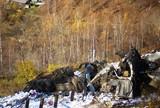Большегрузный Freightliner рухнул с серпантина недалеко от Слюдянки